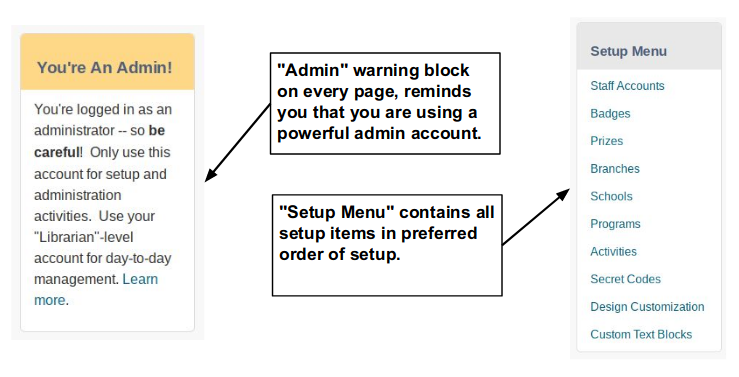 image depicting Admin Features